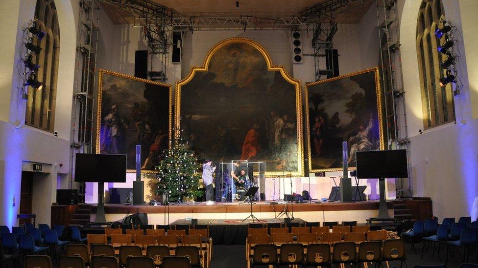 Bristol church hosts first service in 60 years