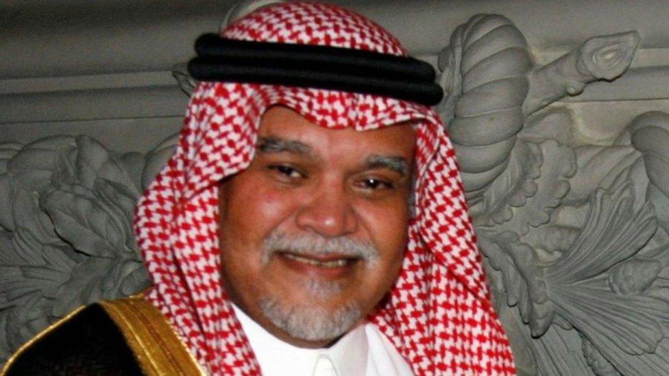 كان بندر بن سلطان على اتصال دائم بالملف الفلسطيني