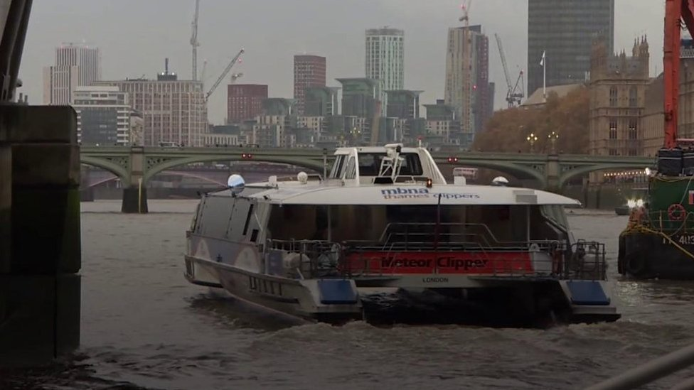Building London's new Thames Clipper