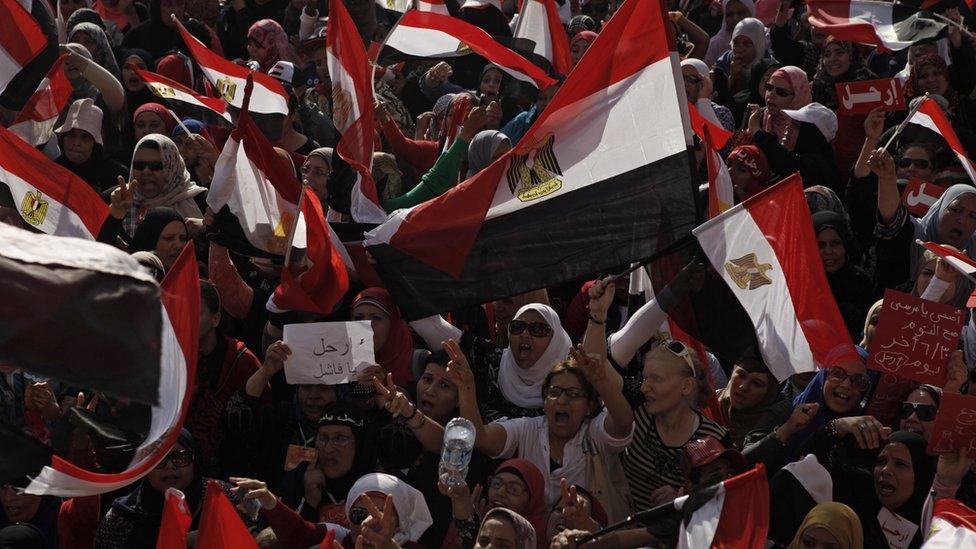 صورة من مظاهرات 30 يونيو في مصر