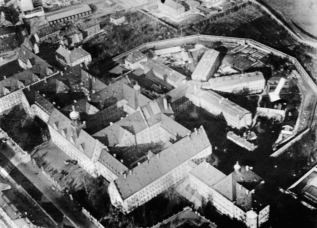 Palacio de Justicia y la prisión de Núremberg.