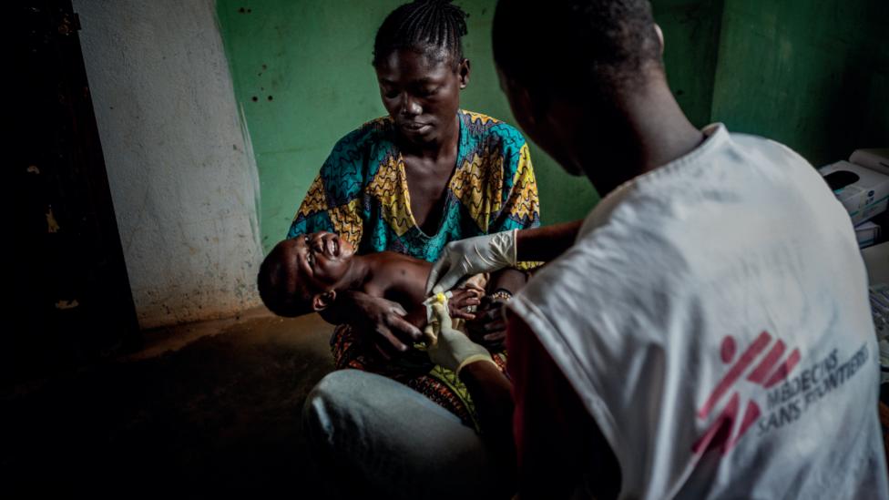 Bouca, República Centroafricana, 2013.