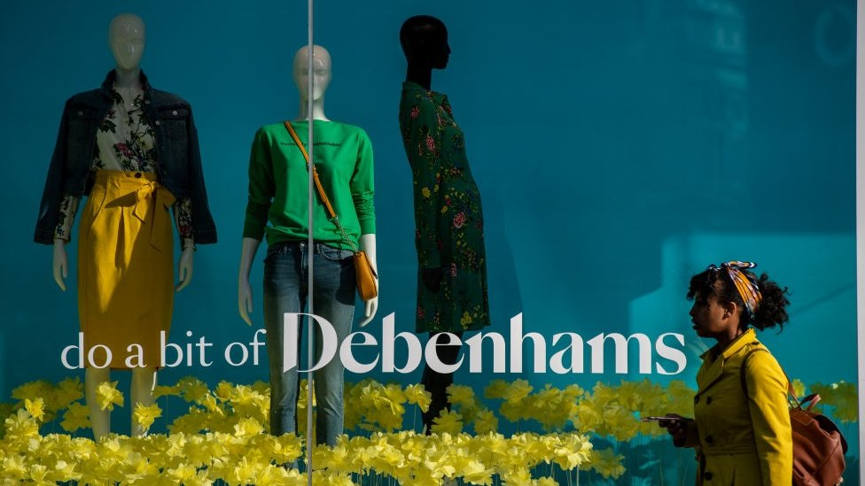 Debenhams names 22 stores to close