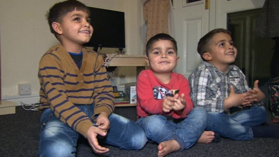 Children from Syria living in Leeds