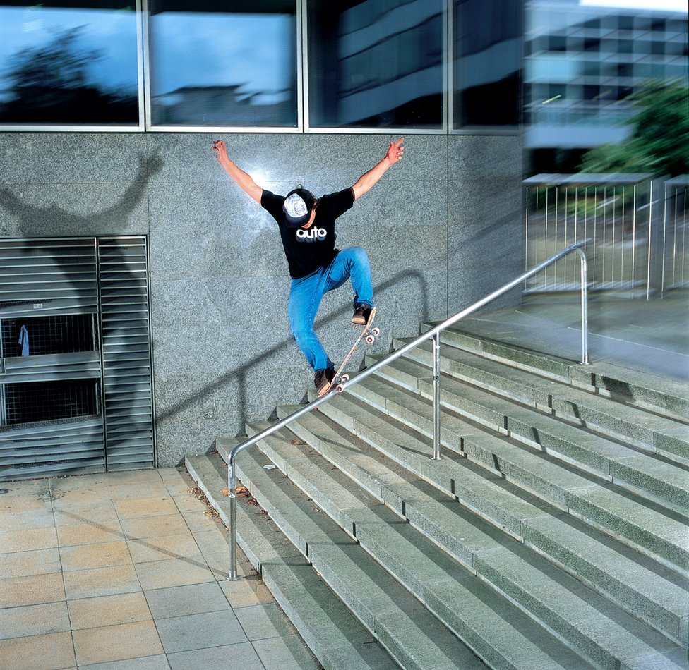 Tom Watts grinding rail