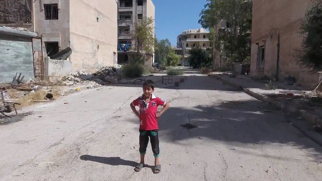 Child in Aleppo