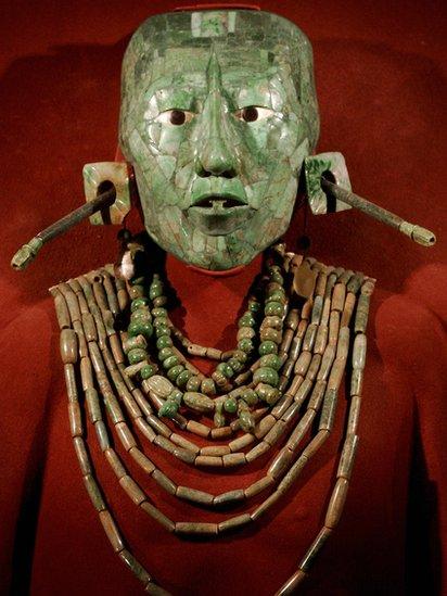 Máscara funeraria de Pakal