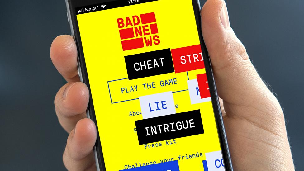Bad News app