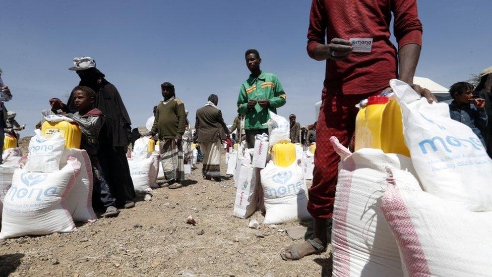 مخيم للنازحين في صنعاء، اليمن، 1 مارس/آذار
