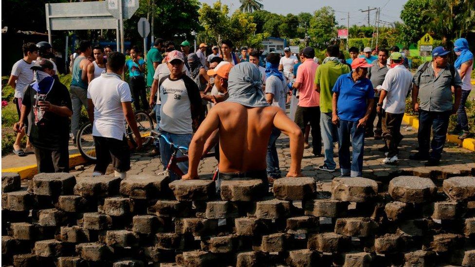 Barricadas en Nquinohomo