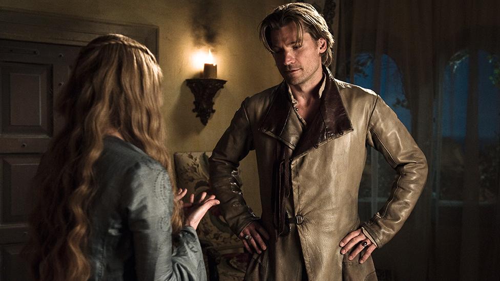 Cersei y Jaime Lannister en la temporada 1