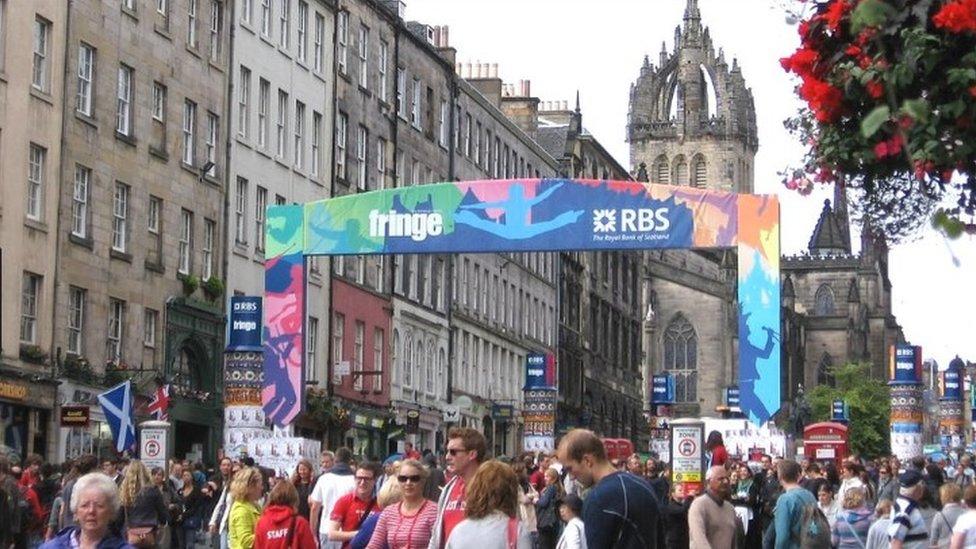 Edinburgh festivals safety action call