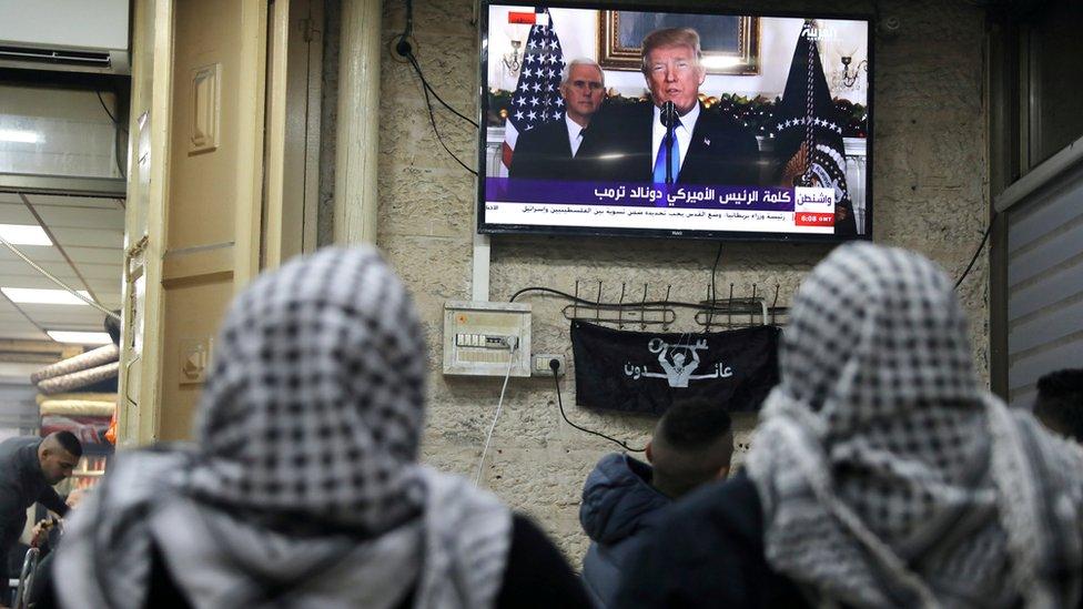 Trump, Amerika Serikat, Israel