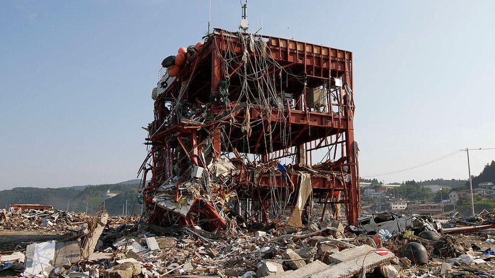 Japón tsunami 2011