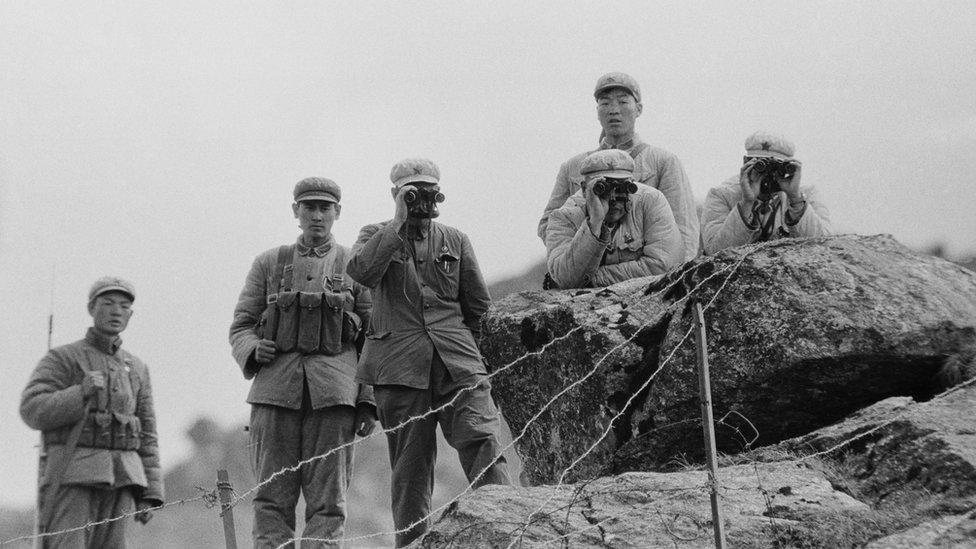 1962年中印邊境衝突中的中國解放軍軍人