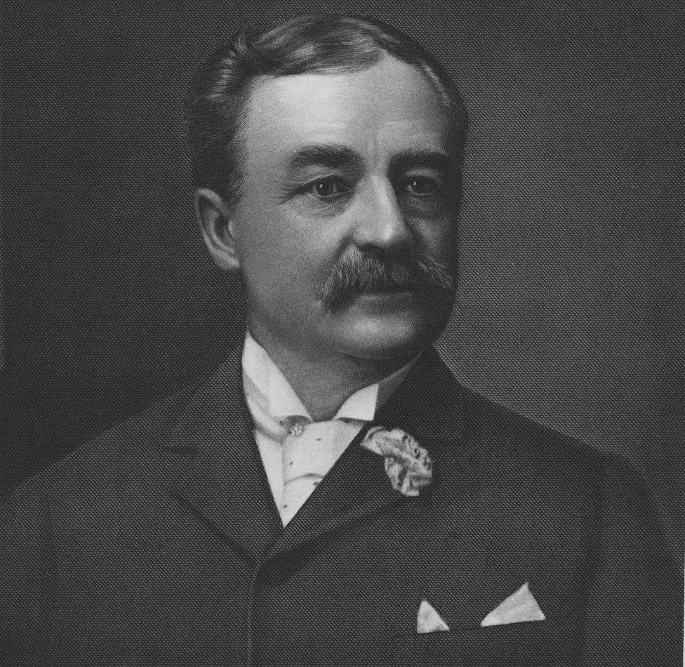 Aaron Montgomery Ward, el padre de las ventas por correo.