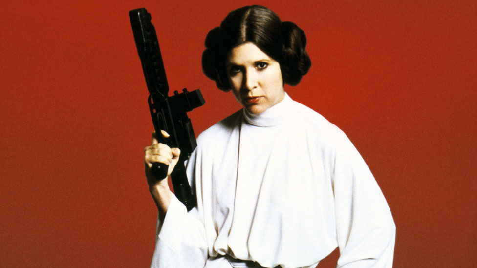 Carrie Fisher in Star Wars: Episode IV - A New Hope