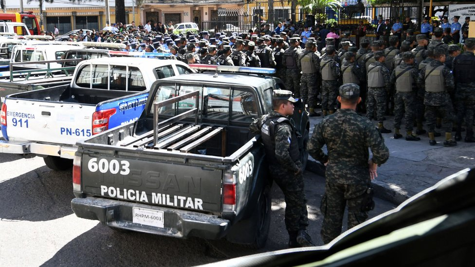 Honduran security forces