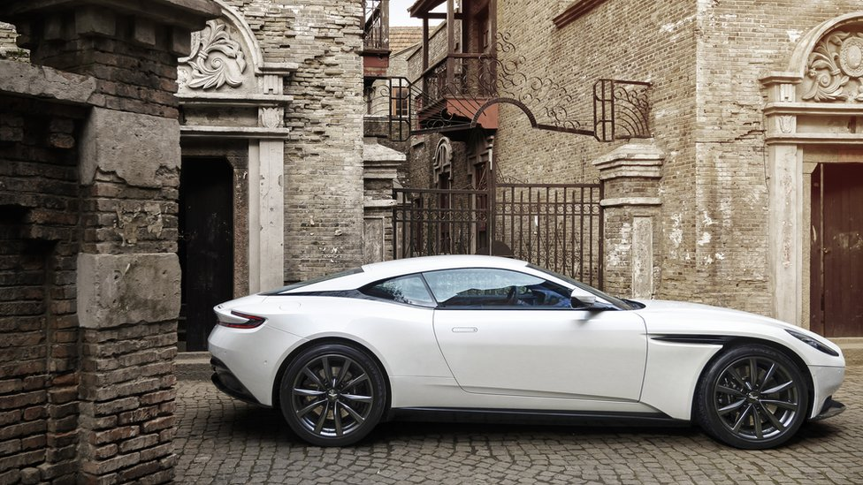 Aston Martin Shares Fall On Stock Market Debut Bbc News