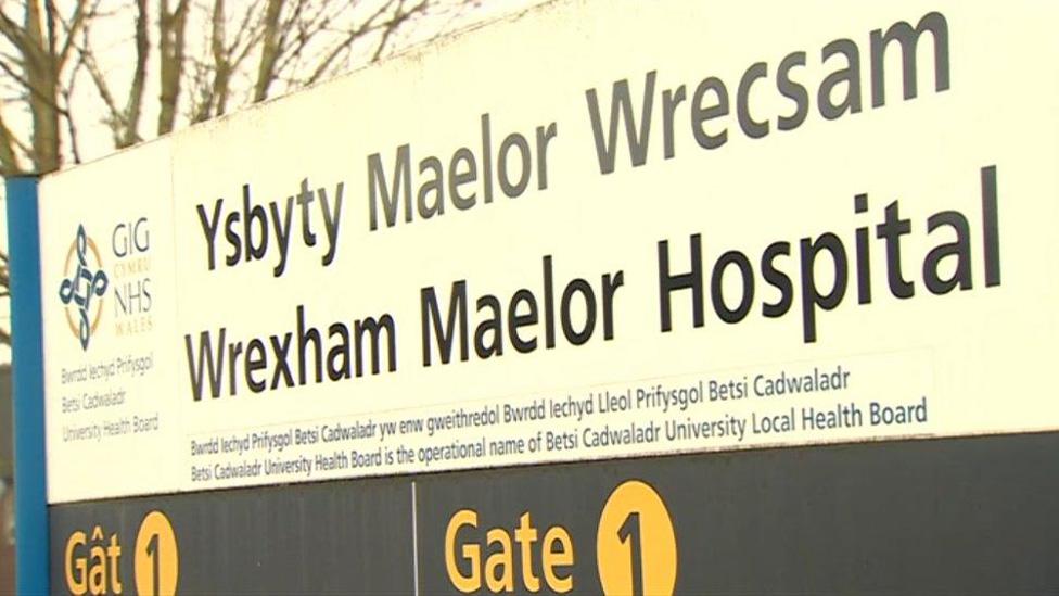 Wrexham Maelor: 'Worst on record' A&E shows improvement