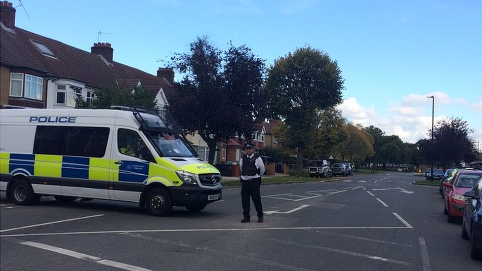 Police in Northolt