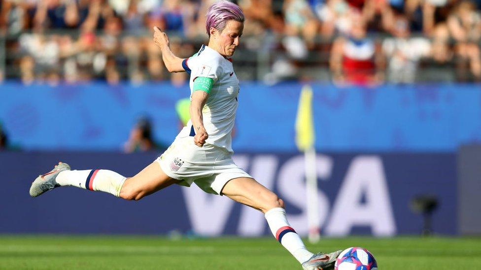 Los goles de Rapinoe de esta semana le dieron a Estados Unidos la victoria frente a España y a Francia.