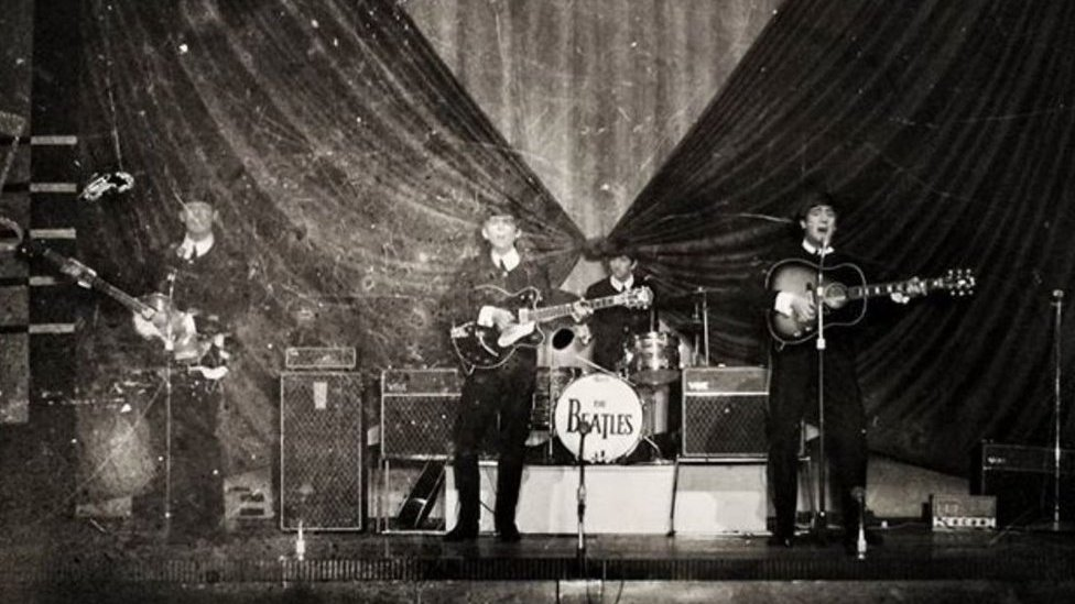 Beatles Great Yarmouth photo printed after 55 years