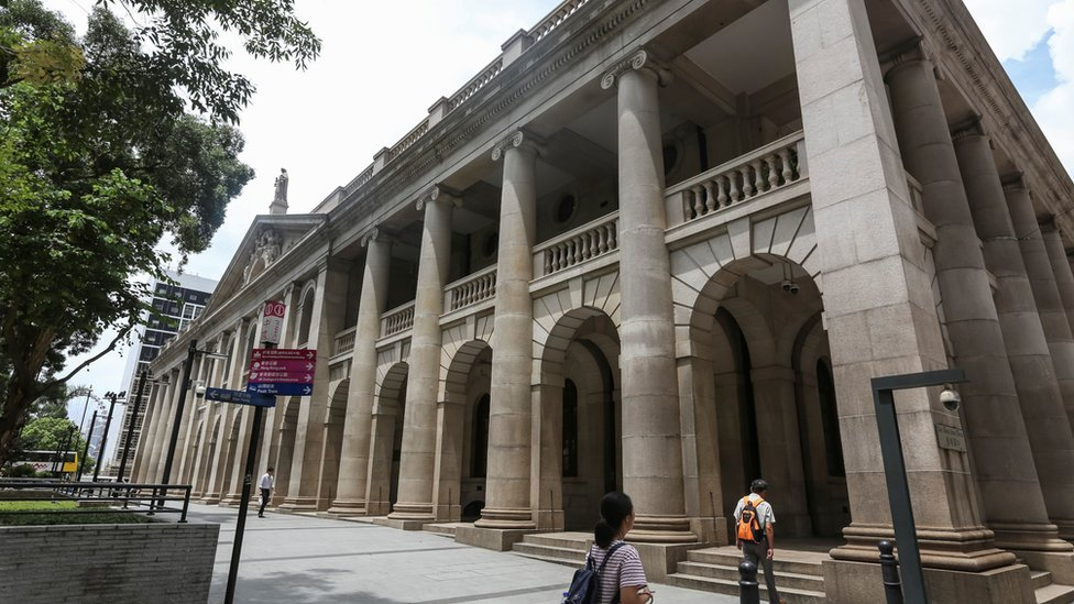 香港終審法院大樓(資料圖片)