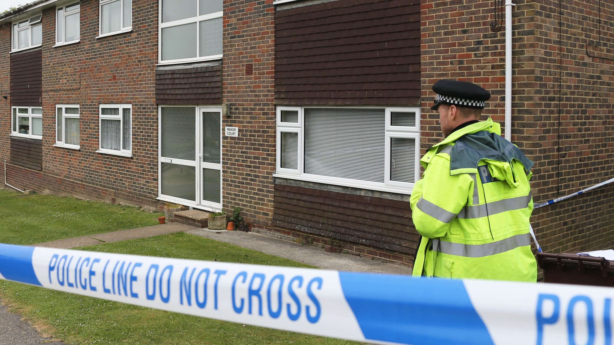Sussex murder probe after woman's body found in flat
