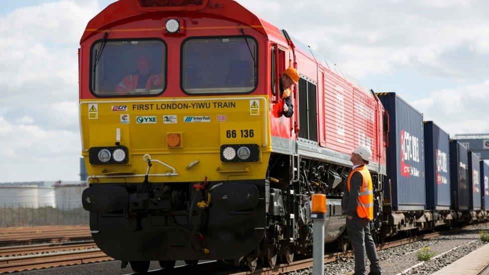 Rail freight train