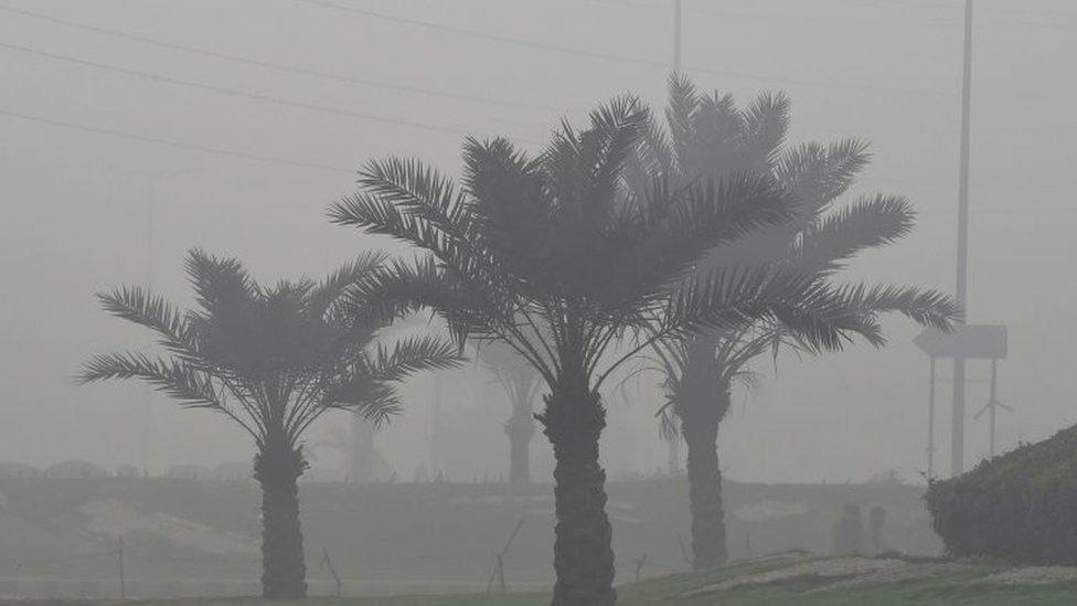 印度拉合爾的空氣污染