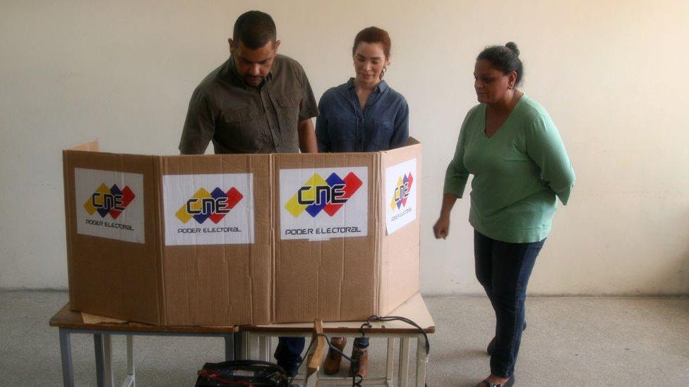 votación en Venezuela NO USAR | BBC