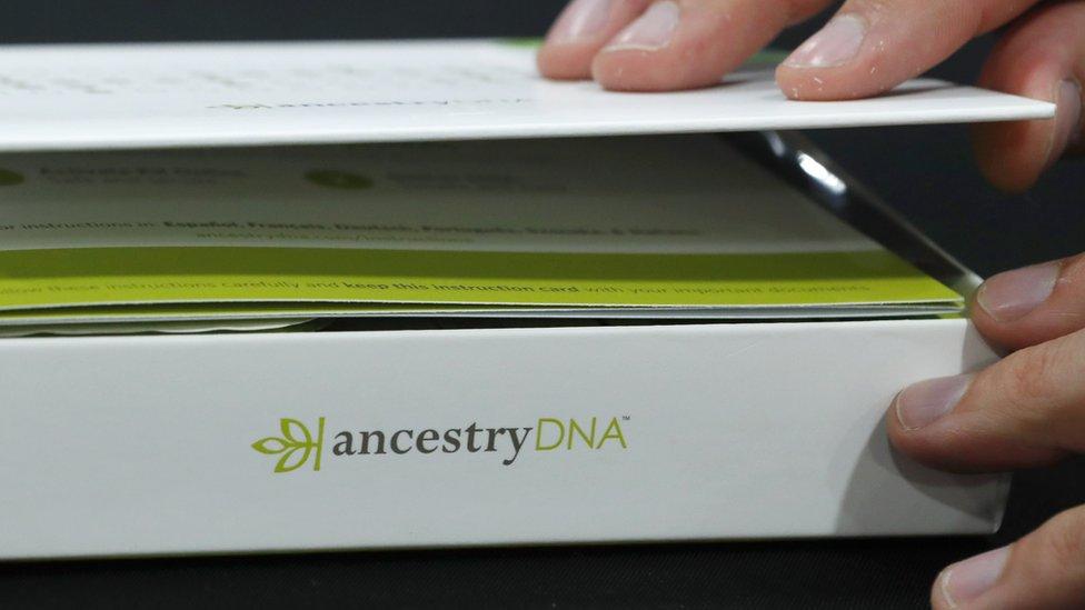Ancestry DNA folder