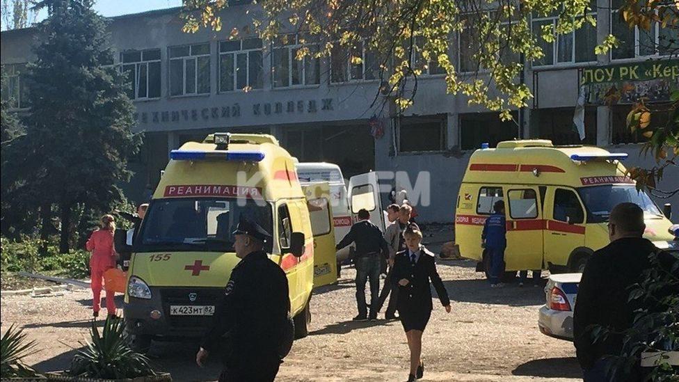 У коледжі в Керчі спрацював вибуховий пристрій: 10 загиблих
