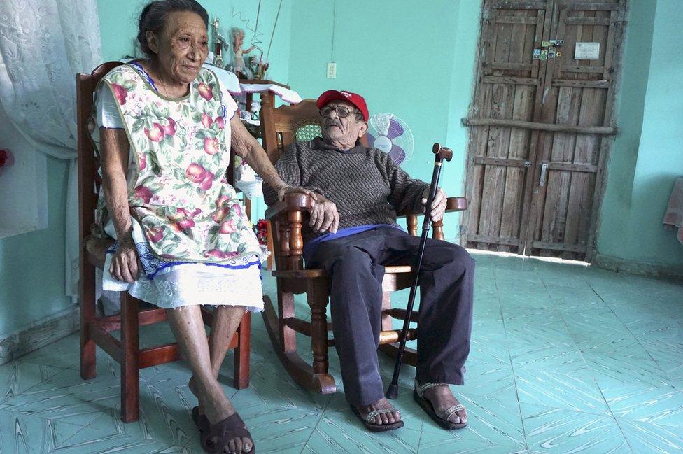 Martha, 81, and her husband Faustino, 84
