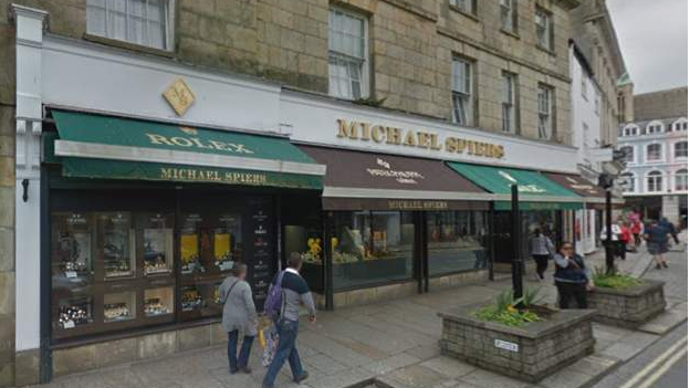 Gang members jailed for £1m Truro jeweller's robbery