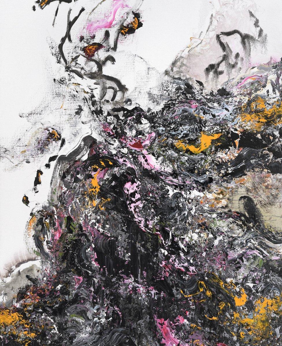 Covid Spring, by Maggi Hambling