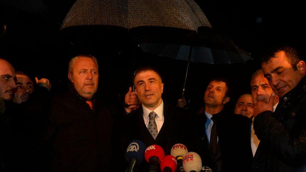 Peker, Ergenekon davasından tahliye olduktan sonra yaptığı konuşmada
