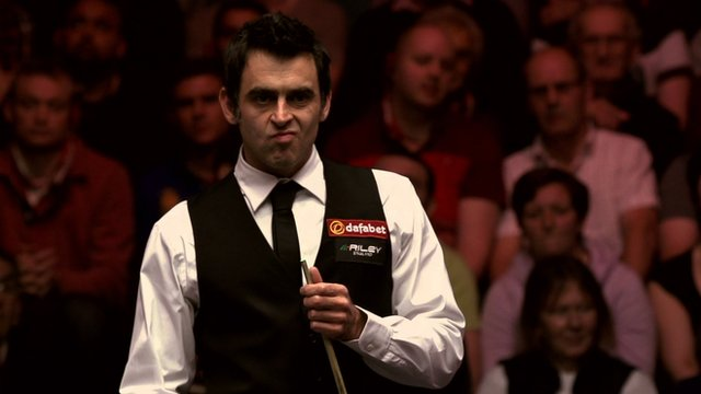 Five-time Masters champion Ronnie O'Sullivan
