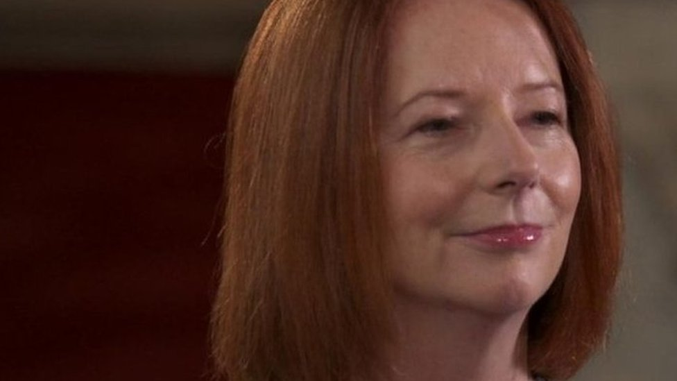 'Ditch the witch': Julia Gillard shocked by 'vile' abuse while Australian PM