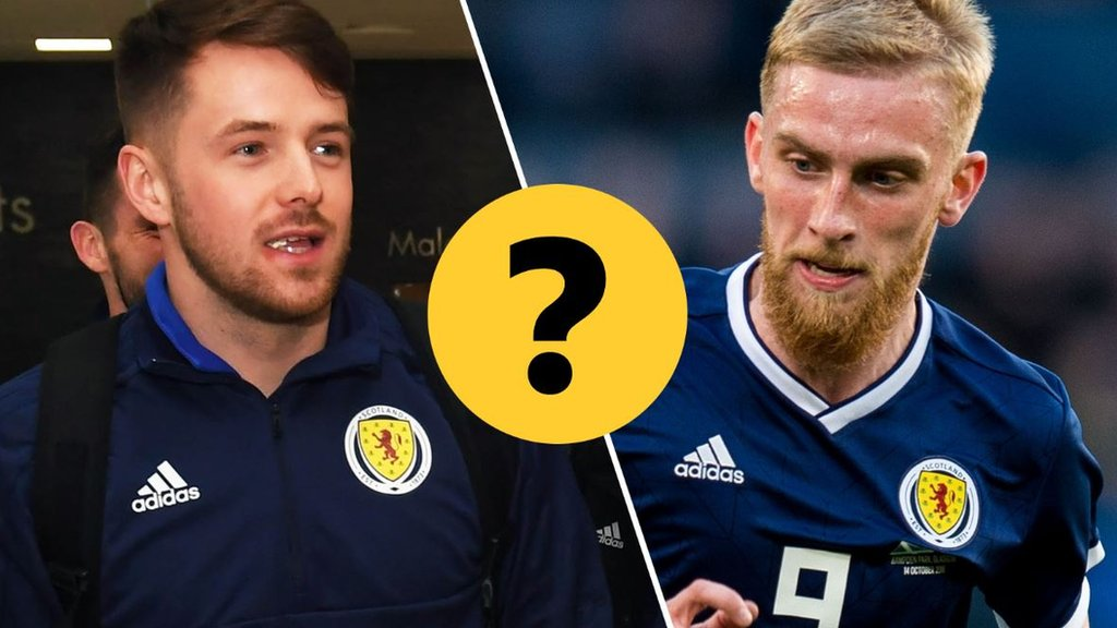 Pick your Scotland XI to face Kazakhstan in Euro 2020 qualifying