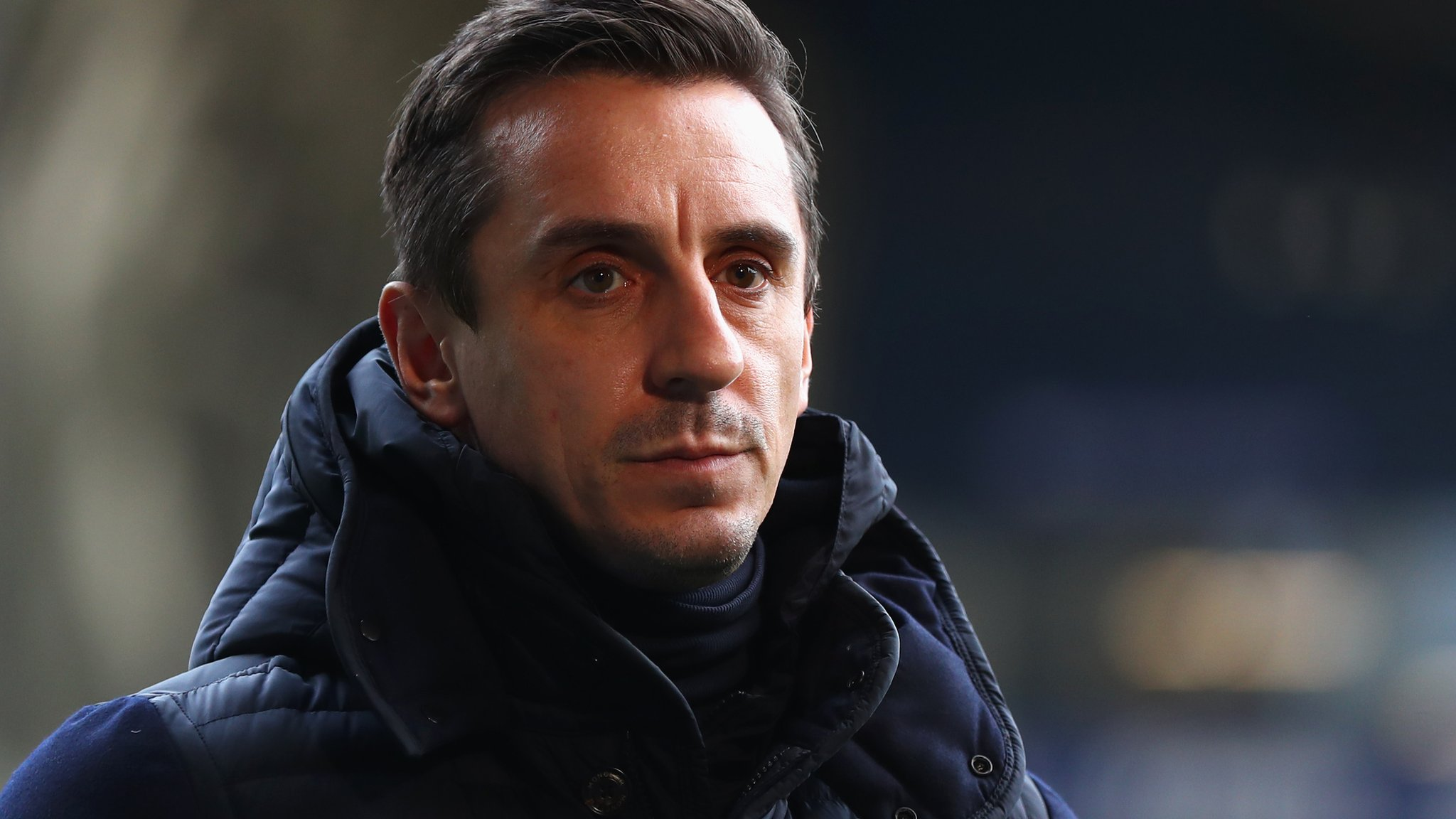 Man Utd legend Neville in Twitter row with rival football club owner
