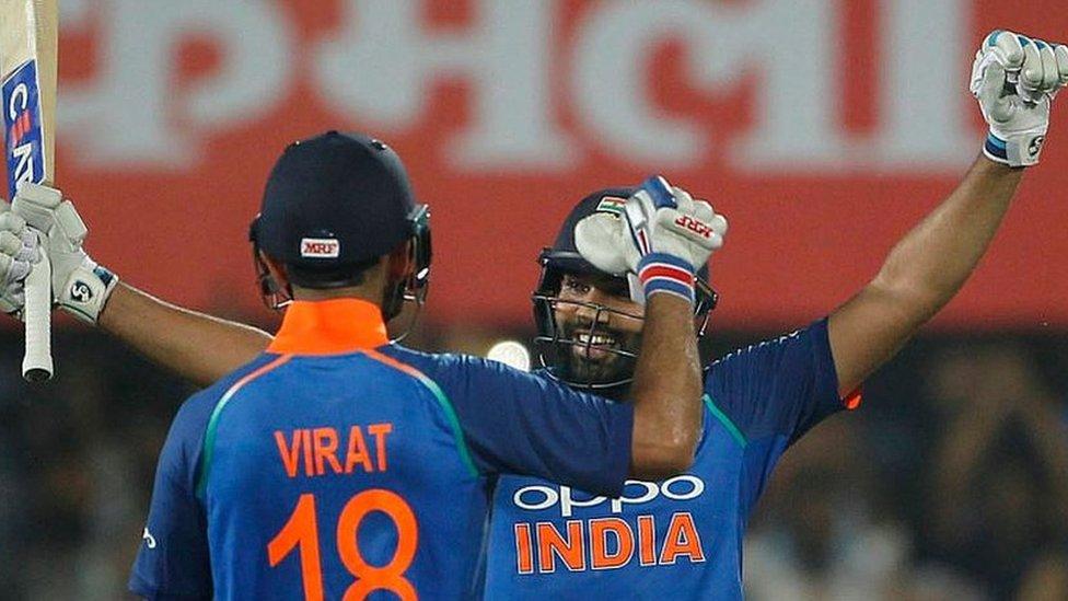 वेस्ट इंडीज़ पर कोहली-रोहित का कोहराम, भारत जीता
