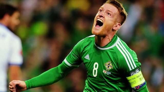 Northern Ireland's Steven Davis