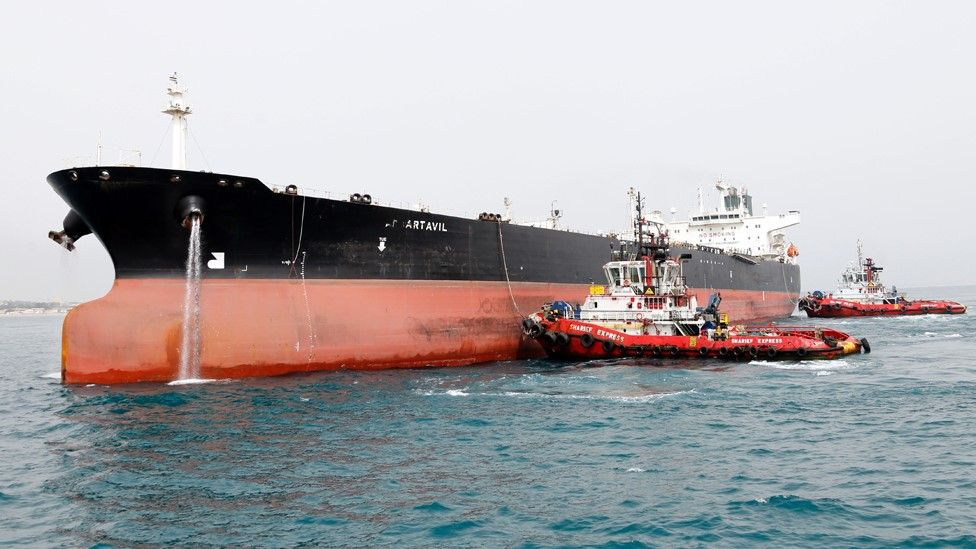 Kapal minyak Iran