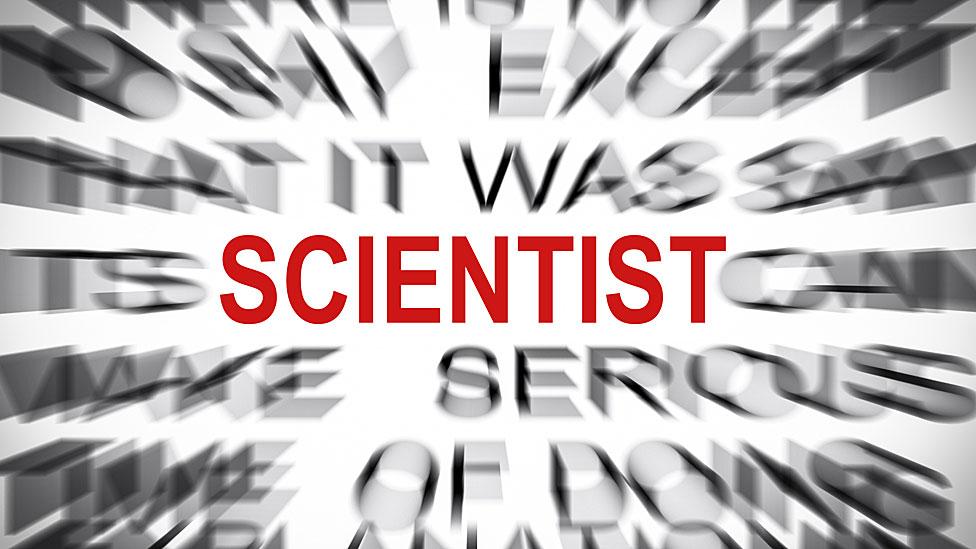 La palabra scientist