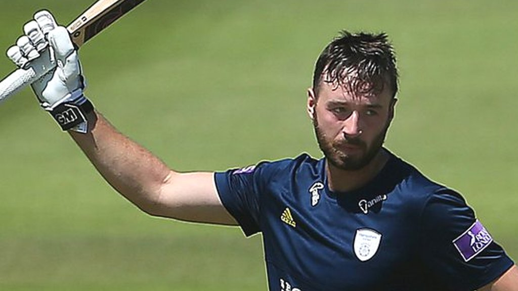 One-Day Cup: James Vince 171 helps Hampshire beat Yorkshire in semi-final