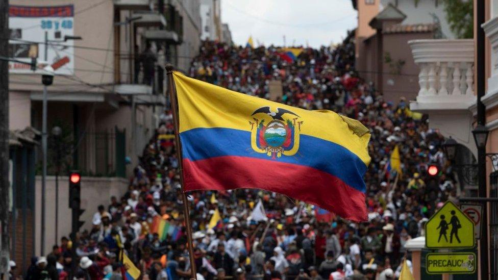 Protestas en Guayaquil