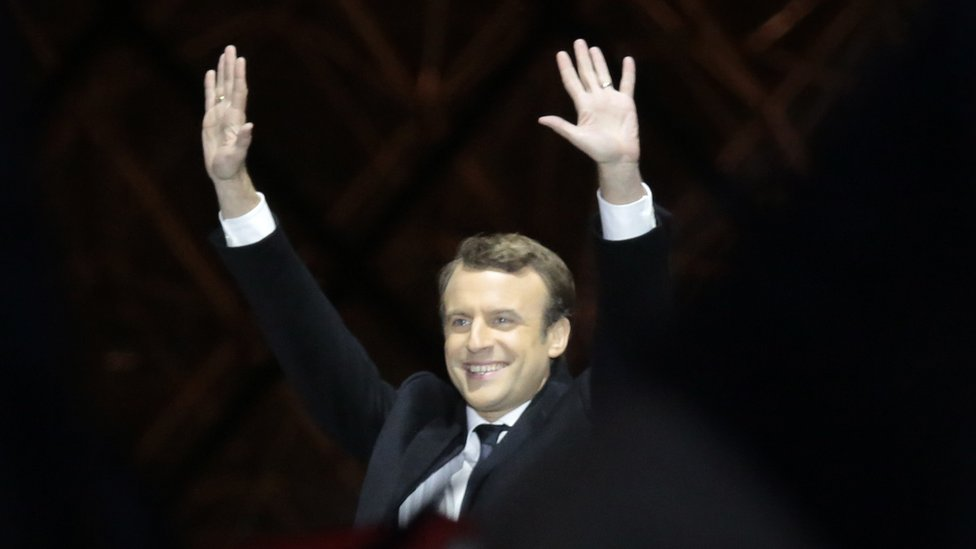 French Election What Emmanuel Macron S Win Means For Africa Bbc News