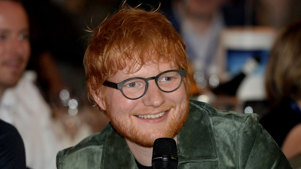 BBC News - Ed Sheeran breaks U2's tour record